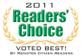 Register Citizen Readers Choice Logo 2011