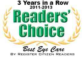 Best Eye Care Award Register Citizen